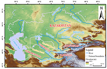 water resource in central asian countries