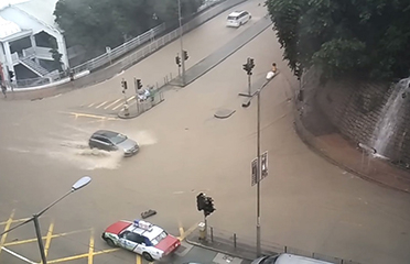 flash floods hk